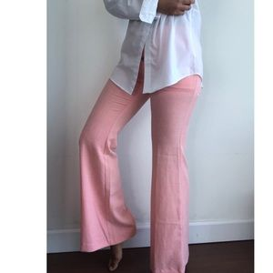 NWT Tobi Essue pink wide leg pants S